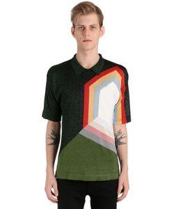 Marco de Vincenzo | Graphic Knit Polo Shirt