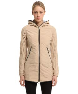 Duvetica | Aceso Nylon Long Down Jacket