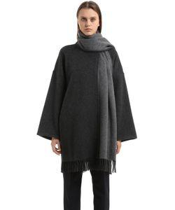 Salvatore Ferragamo | Cashmere Poncho Style Coat