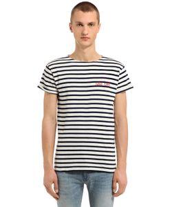 MAISON LABICHE | Rebel Rebel Striped Jersey T-Shirt