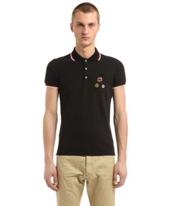 Dsquared2 | Cotton Piqué Polo With Pins