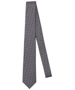 Versace | 7cm Greek Motif Silk Jacquard Tie