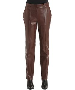 Salvatore Ferragamo | Natural Leather Pants