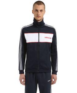 Adidas Originals | Color Blocked Cotton Blend Track Jacket