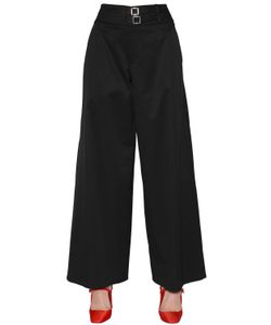 Alyx | Cropped Wide Cotton Stretch Pants