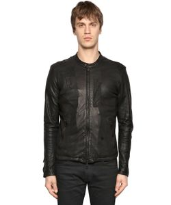 Giorgio Brato | Patchwork Nappa Leather Jacket