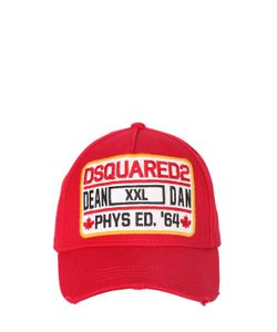 Dsquared2   Phys Ed. Patch Canvas Baseball Hat
