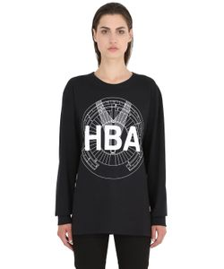 Hood By Air | Logo Printed Cotton Sweatshirt