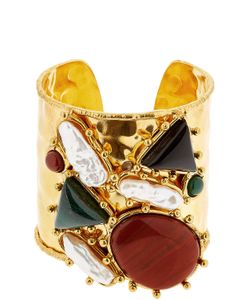Sylvia Toledano | Manchtte Artsty Cuff Quartz Bracelet