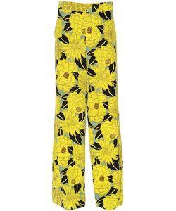 Etro | Floral Printed Silk Crepe De Chine Pants
