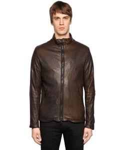 Giorgio Brato | Double Zip Smooth Leather Jacket