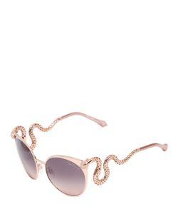 Roberto Cavalli | Cat Eye Sunglasses With Serpent Temples