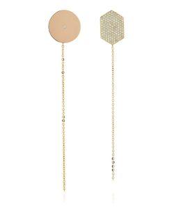 Lito | Infinity Diamond Shape Earrings