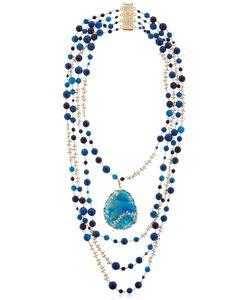 Rosantica   Amuleto Quartz Agate Necklace