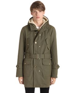 EQUIPE' 70 | Eskimo Maxi Anti-Drop Cotton Coat