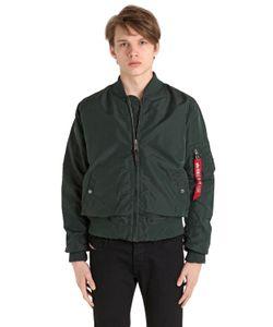 Alpha Industries | Ma-1 Tt Slim Fit Nylon Bomber Jacket