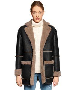 Forte Couture | Blazer Shearling Fur Coat