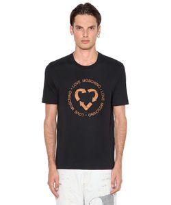 Love Moschino | Quork Printed Cotton Jersey T-Shirt
