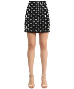 David Koma | Embellished Mini Skirt