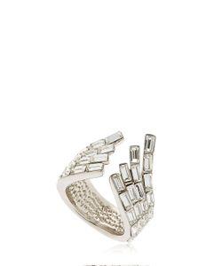 Giuseppe Zanotti Design | Wrap Around Crystal Cuff Ring