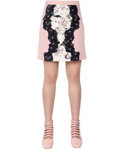 Vivetta | Silhouette Patchwork Wool Toile Skirt