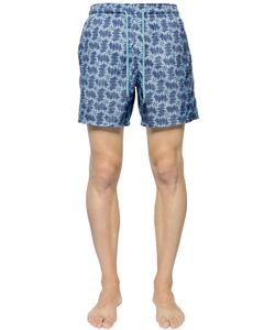 Vilebrequin | Packable Ultra Light Print Swim Shorts