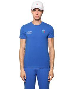 EA7 Emporio Armani | Italian Team Stretch Jersey T-Shirt