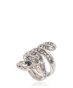Roberto Cavalli | Viper Swarovski Embellished Ring