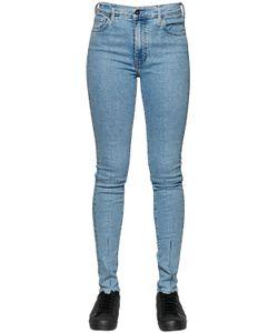 LEVI'S MADE & CRAFTED   Sliced Sliver Stretch Cotton Denim Jeans