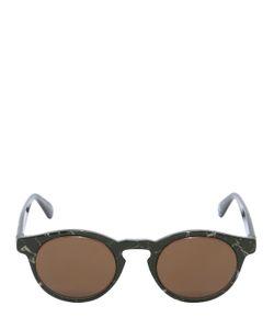 Italia Independent   I-I 926 Marble Effect Sunglasses