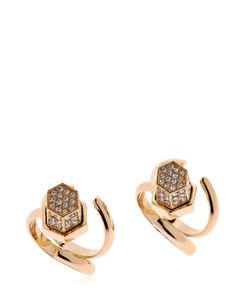 GIULIANA MANCINELLI | Route 66 Crystal Edition Set Of 2 Rings