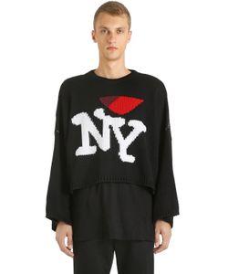 Raf Simons | New York Oversized Wool Knit Sweater