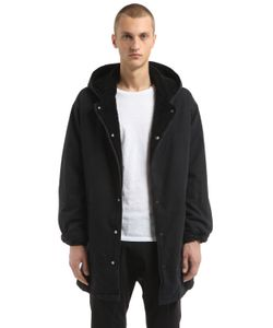 Yeezy   Eco Shearling Lined Cotton Canvas Parka