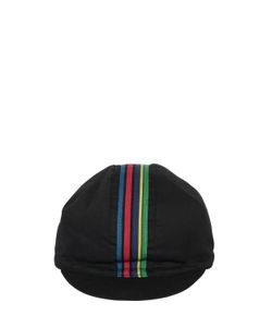 Paul Smith | Striped Cotton Hat With Visor