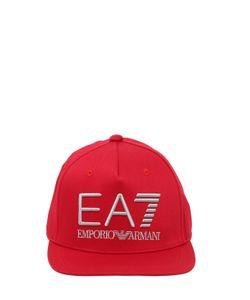 EA7 Emporio Armani | Train Visibility Cotton Baseball Cap