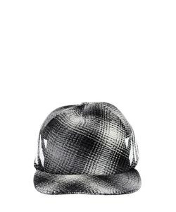 Off-White | Brushed Stripes Flannel Baseball Hat