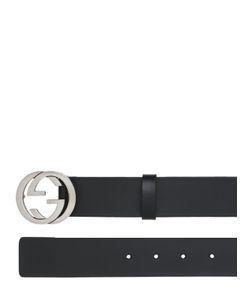 Gucci | 37mm Interlocking G Leather Belt