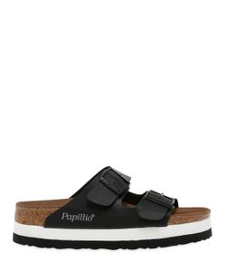 BIRKENSTOCK PAPILLIO | Arizona Faux Leather Platform Sandals