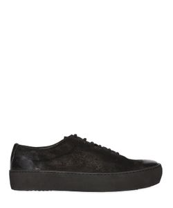 The Last Conspiracy | Waxed Suede Sneakers
