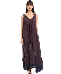 Yvonne S | Printed Linen Voile Dress