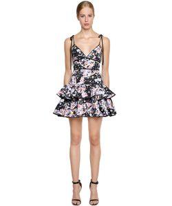 Piccione.Piccione | Print Mikado Mini Dress