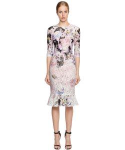 Piccione.Piccione | Printed Lace Column Dress