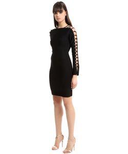 David Koma | Knit Dress W Cutout Sleeves