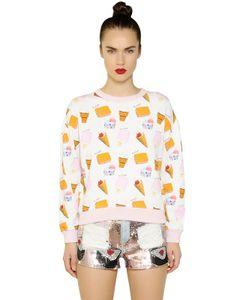 Au Jour Le Jour | Ice Cream Printed Cotton Sweatshirt
