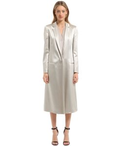 Calvin Klein Collection | Fluid Satin Light Coat