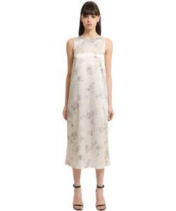 Calvin Klein Collection | Printed Silk Dress