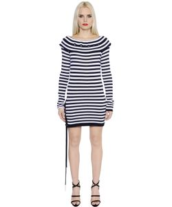 Sonia Rykiel | Striped Fitted Cotton Jersey Dress