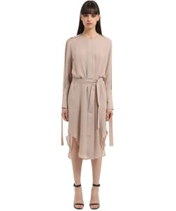 Calvin Klein Collection   Double Georgette Trench Dress