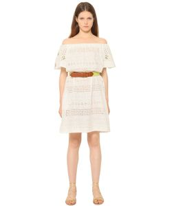 Blugirl | Embroide Cotton Eyelet Dress