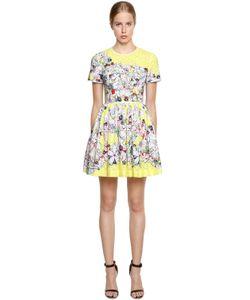 Piccione.Piccione | Printed Eyelet Lace Mini Dress